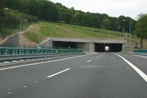 Dálnice D8 - tunel Panenská